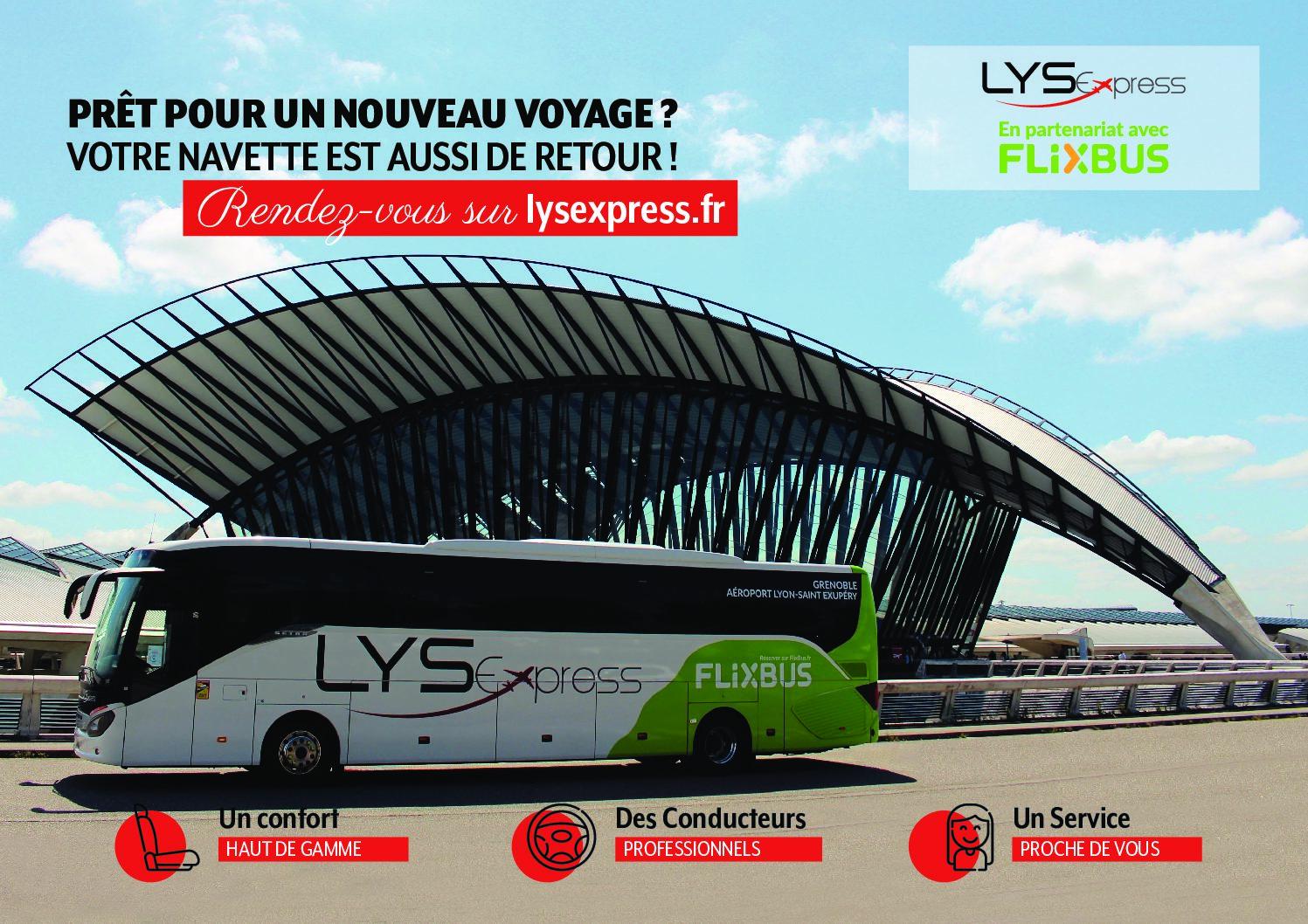 Reprise des navettes aéroport de Lyon – Chambéry